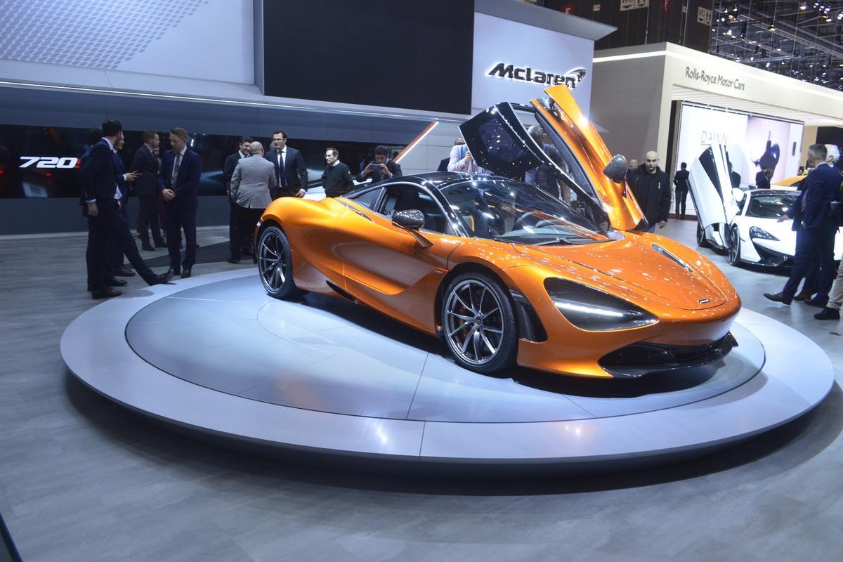 The 720S on show in Geneva