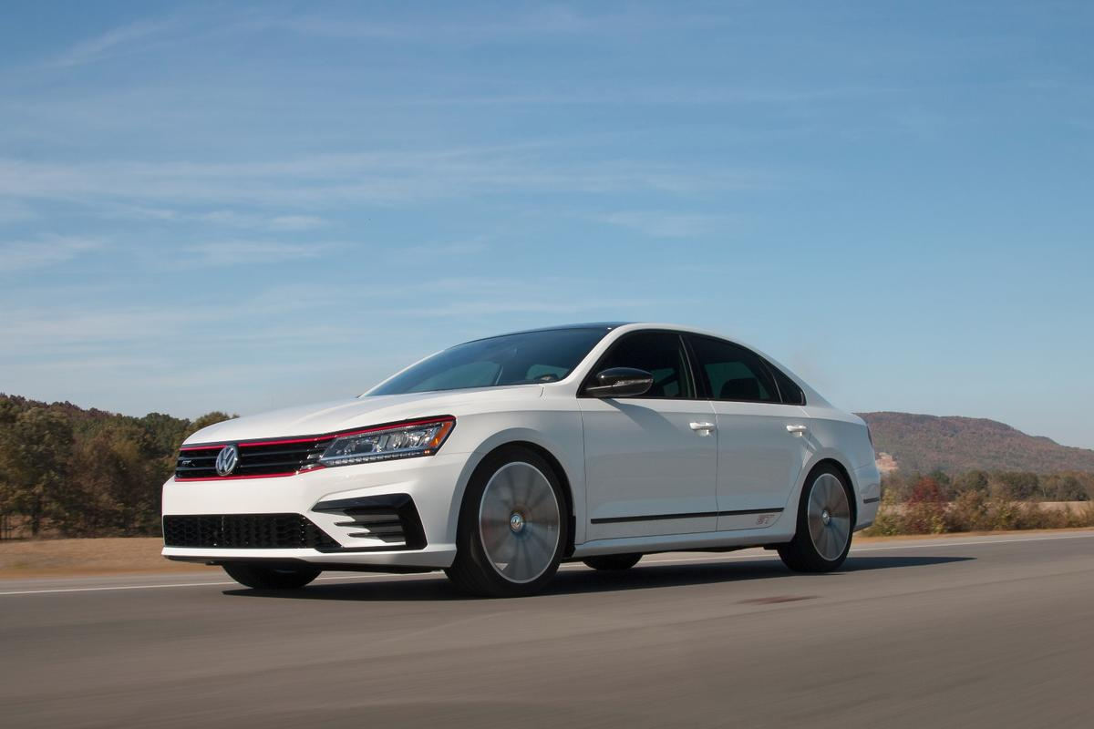 Designed by the Volkswagen team in Tennessee, the Passat GT Concept is powered by the model's production 3.6-liter V6