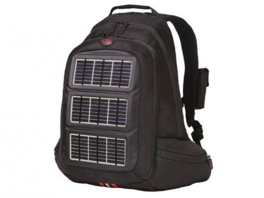 The Voltaic Solar Charging Backpack