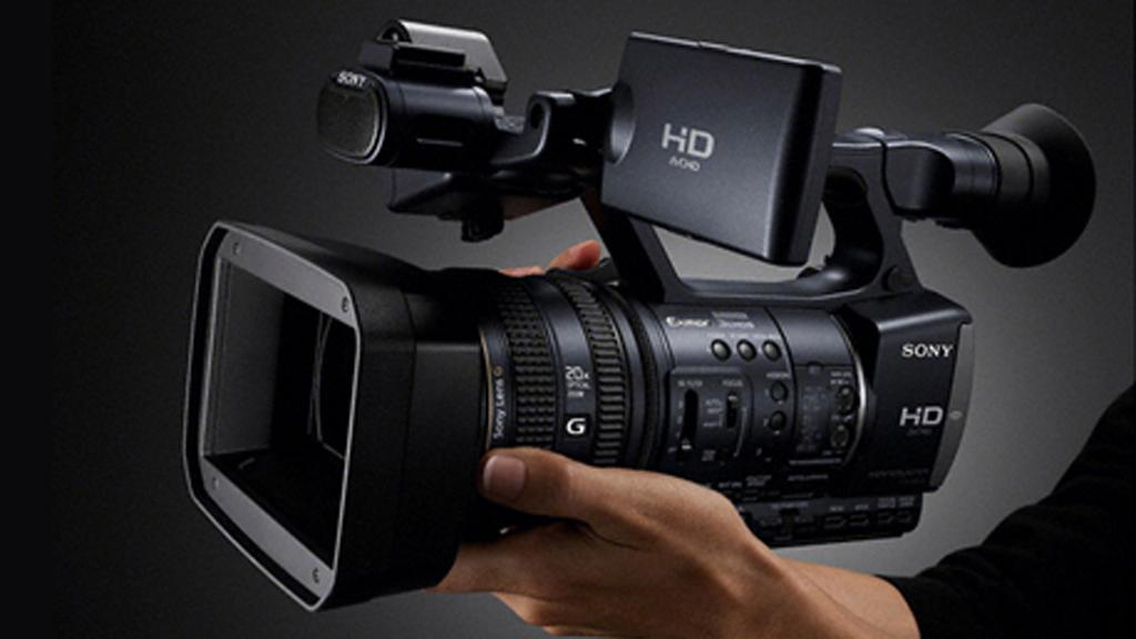 Sony's new prosumer-level HDRAX2000 video camera