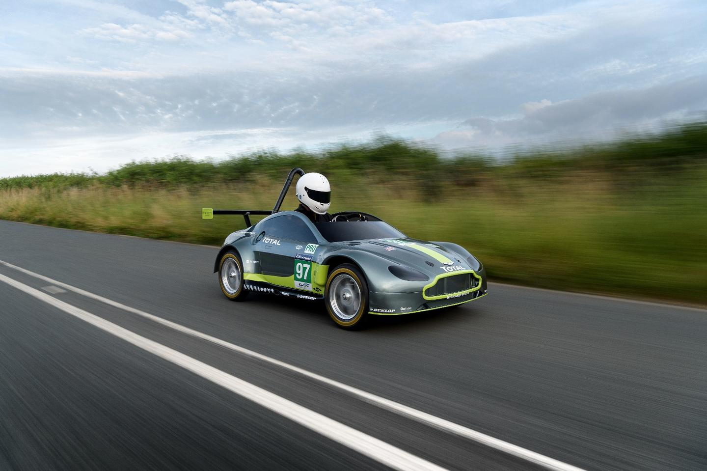 The little Aston Martin Vantage GTE Soapbox