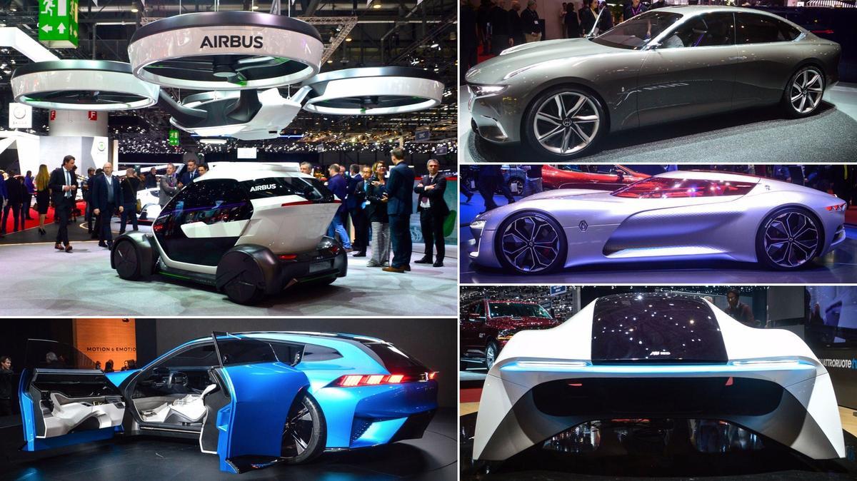 Concept cars of the 2017 Geneva Motor Show