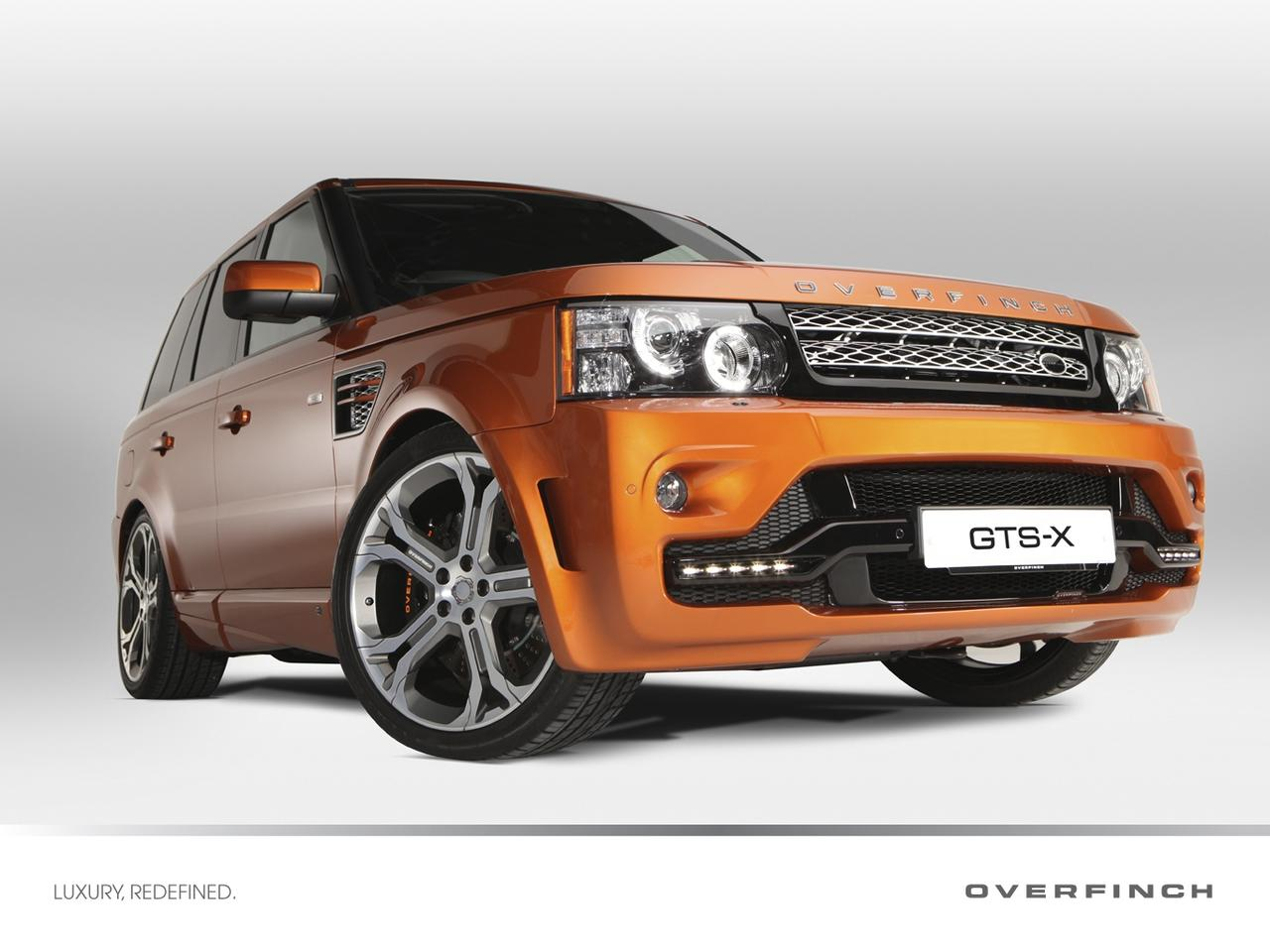 At 575-hp, the GTS-X is Overfinch's most powerful Range Rover Sport