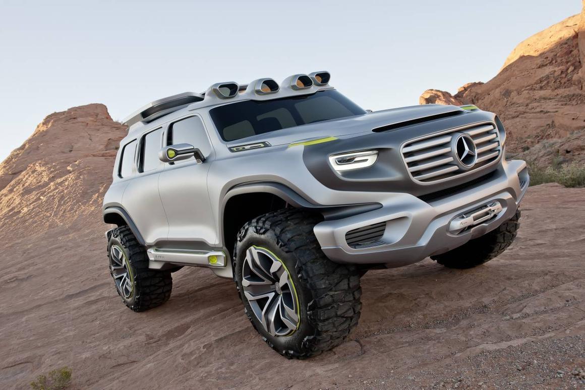 The Mercedes-Benz Ener-G-Force concept design