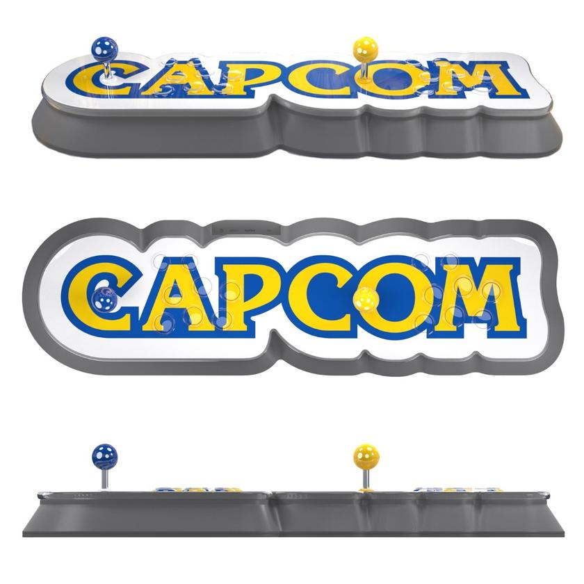The Capcom Home Arcade is powered by Micro USB, plugs intoa TV through HDMI and has onboard Wi-Fi to connect to worldwide leaderboards