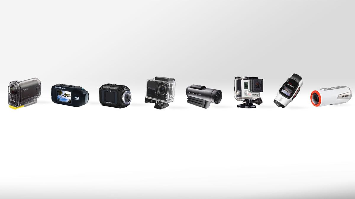 Gizmag compares eight of today's best-known actioncams