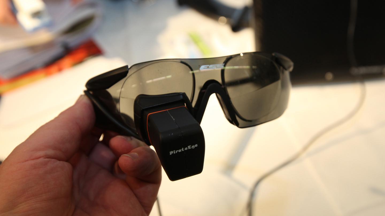 Pirate Eye monocular video glasses