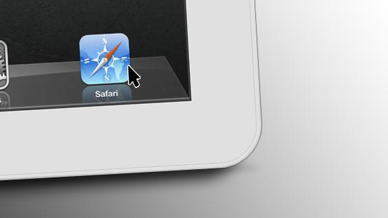 A mouse pointer on your iPad might not be such a bad thing