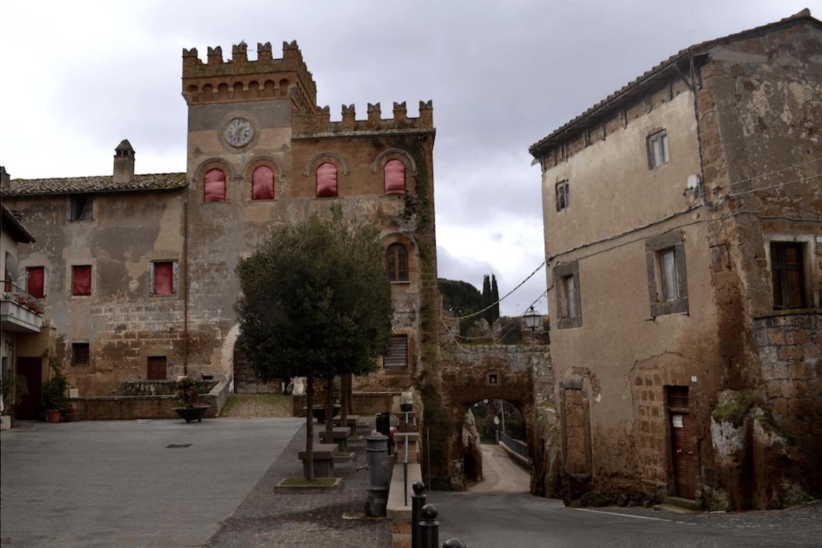 Castello di Blerais a castlelocated in the center of the village of Civitella Cesi, a small hamlet of ancientEtruscan origin