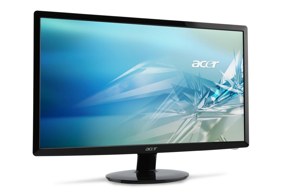 Acer has unveiled a trio of eco-friendly, ultra-thin LED computer displays