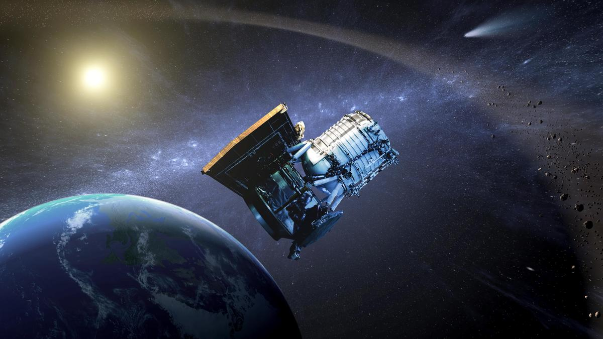 Engineers will bring WISE out of hibernation in September to hunt potentially dangerous asteroids (Image: NASA/JPL-Caltech)