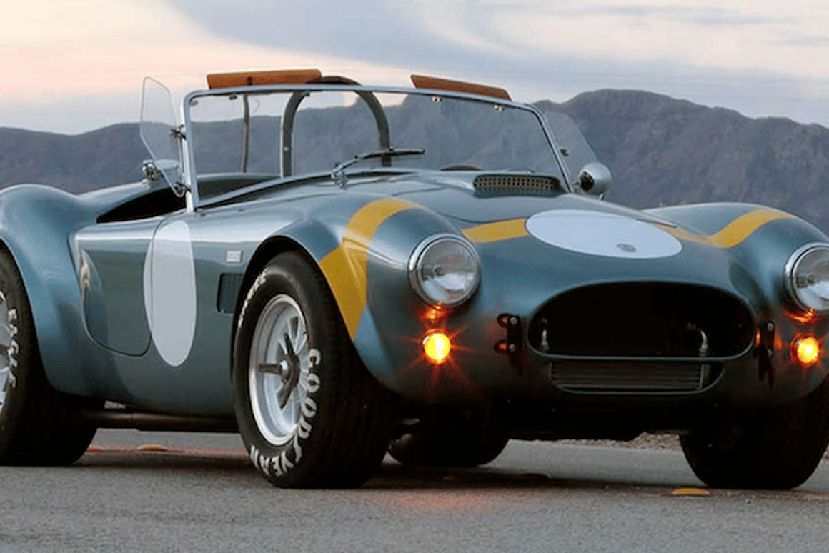 Sebring Tribute Roadster will be the first global turnkey Shelby