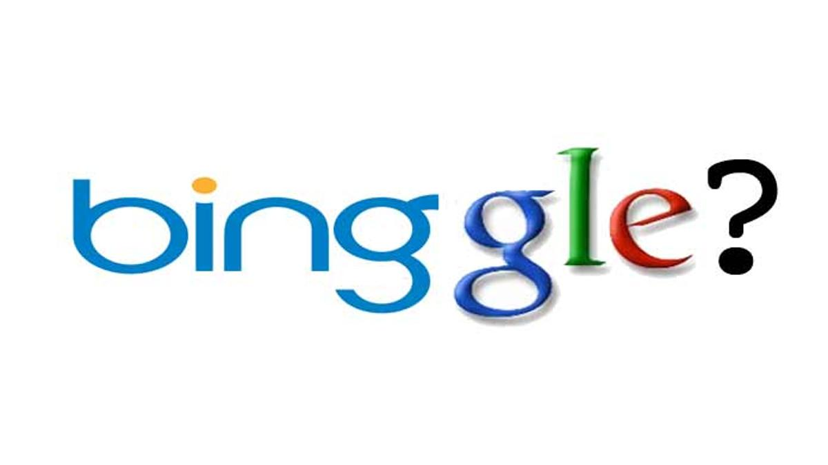 Bing has been caught recycling Google search results.