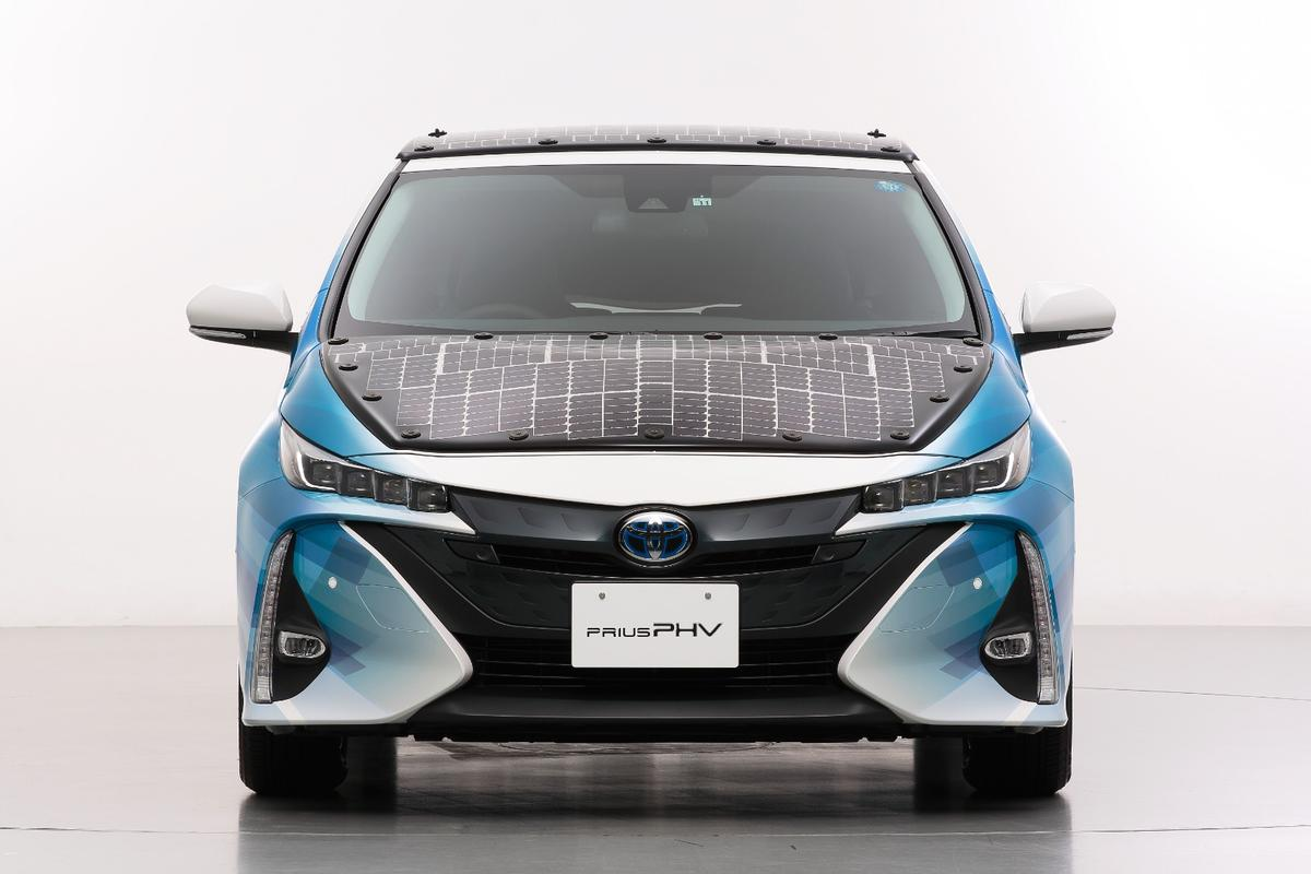 Unlike the previous solar panels to adorn its the Prius plug-in hybrid, the new array will be capable of charging the vehicle while it is on the move