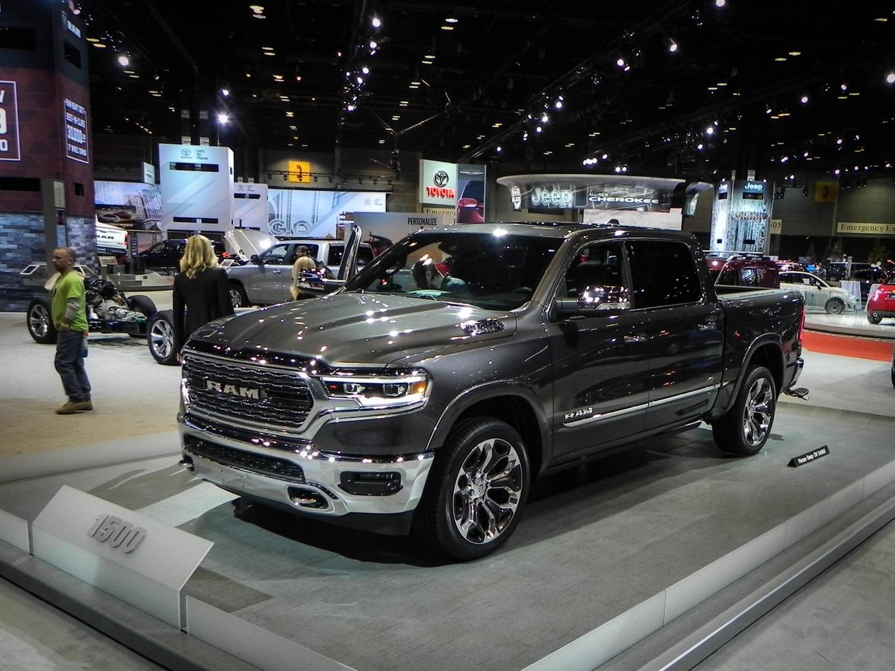 The 2019 Ram 1500, which debuted in Detroit just before the Chicago Auto Show, is completely new from the ground up