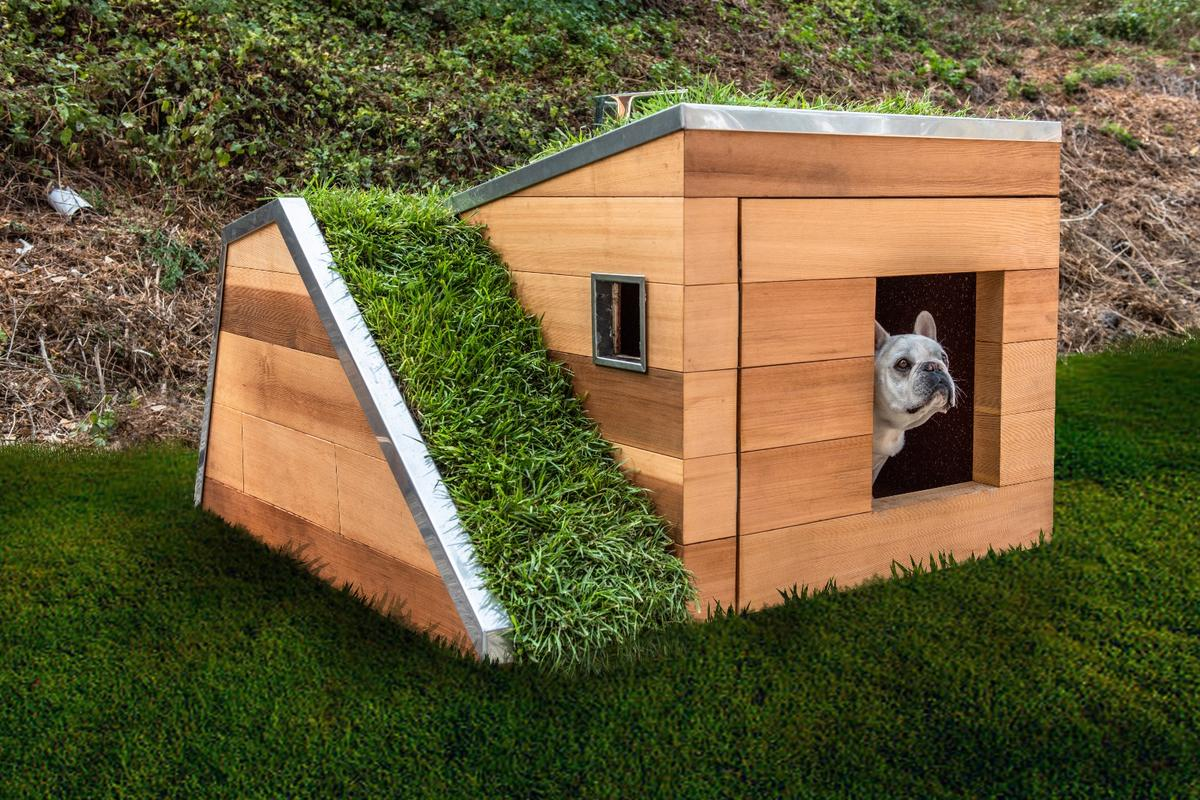 Doggy Dreamhouse is being auctioned to raise money for the Society for the Prevention of Cruelty to Animals charity
