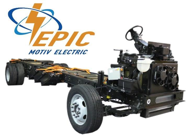 Motiv Power Systems revealed its Ford-based EPIC chassis at the Work Truck Show in March