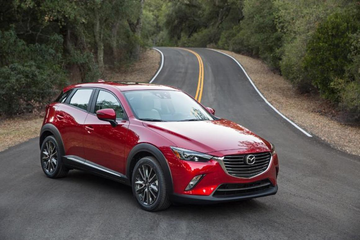 Mazda's CX-3 is being launched into a very competitive segment