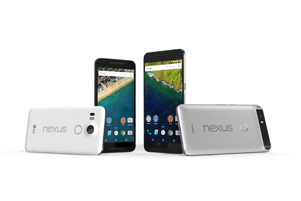 Google's flagship phones for the end of 2015