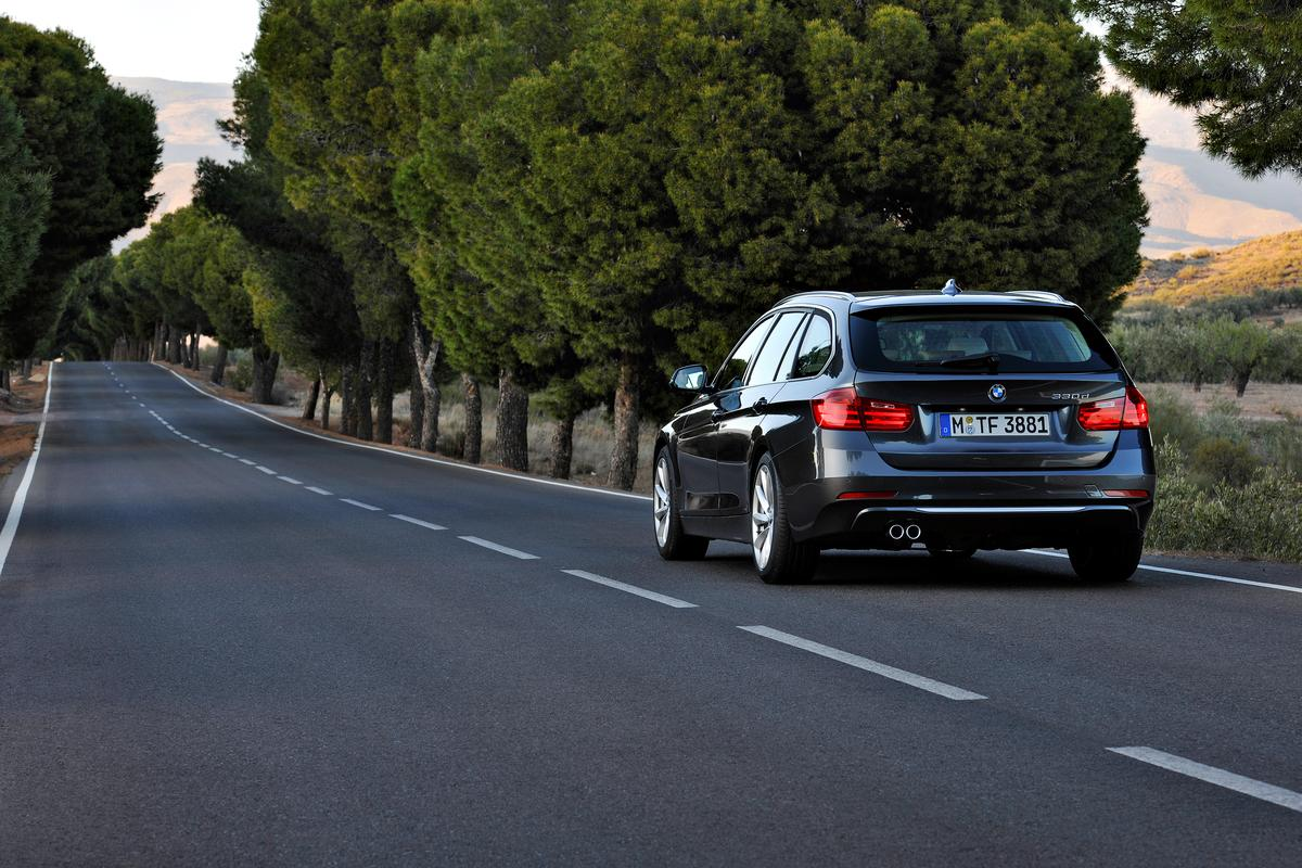 The new (F30) 3 Series Touring 330d from BMW