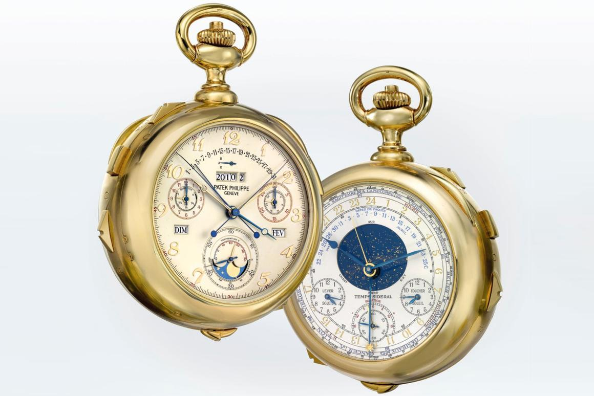 The Patek Philippe Calibre 89 is the most complicated watch of the 20th century