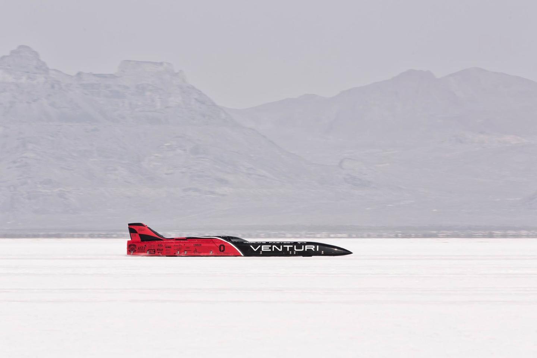 The Venturi VBB-3 breaks the record set by its predecessor, the VBB-2.5