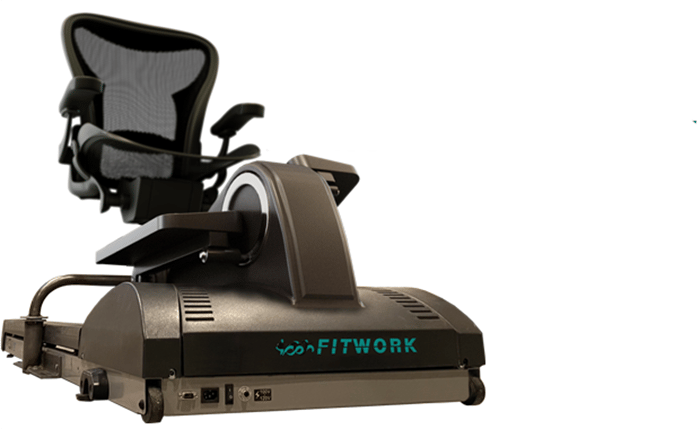 The Fitwork Station is the ultimate solution for staying active at work