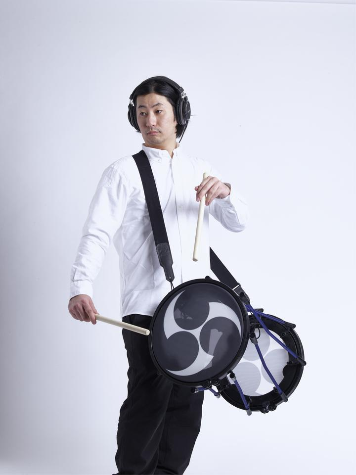 Roland says that the mesh heads on the Taiko-1 electronic drum are acoustically quiet, ideal for practice sessions without disturbing the rest of the household... too much