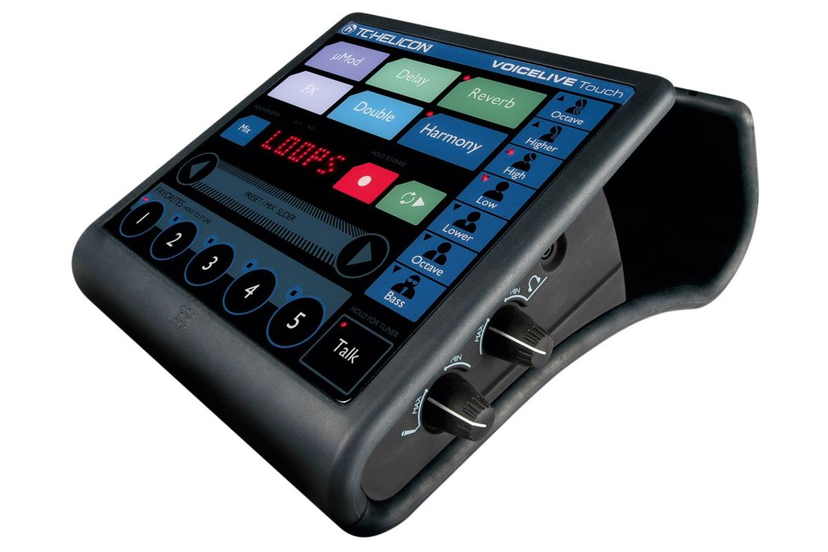 Touchscreen tapping and swiping comes to the vocal effects processor in the form of VoiceLive Touch from TC-Helicon