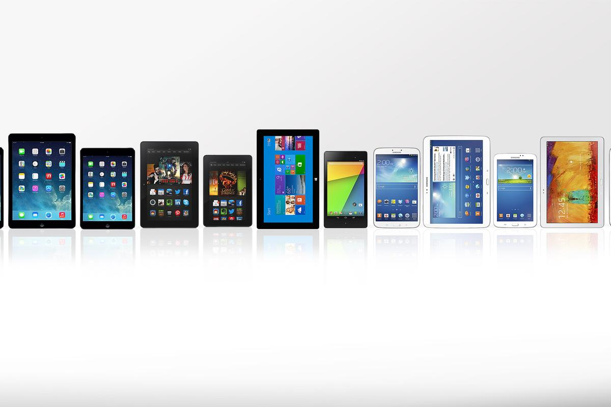 Gizmag compares the features and specs of some of the best tablets of 2013