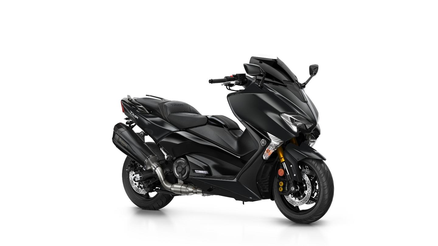 2018 Yamaha Tmax SX Sport: available in black and white