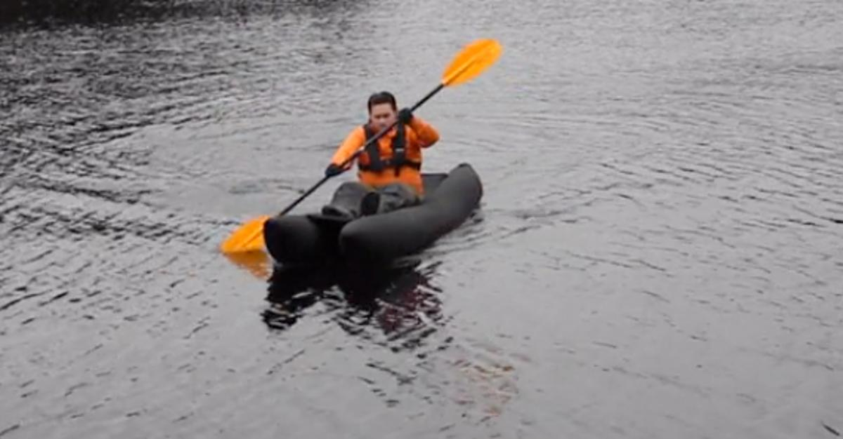 Trekkayak says that its design offers better directional stability than the packraft