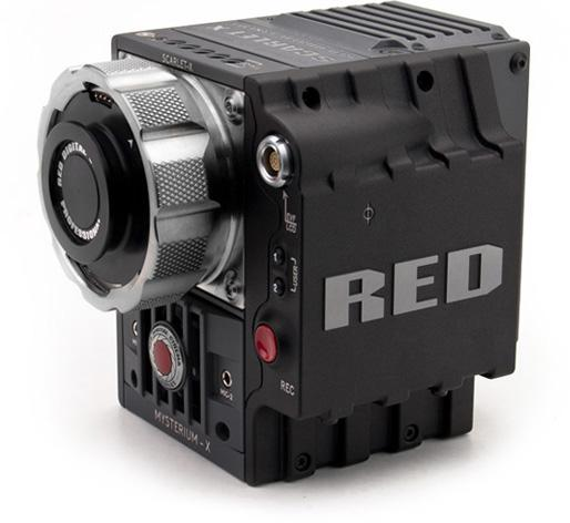 The 4K Scarlet X camera with PL mount