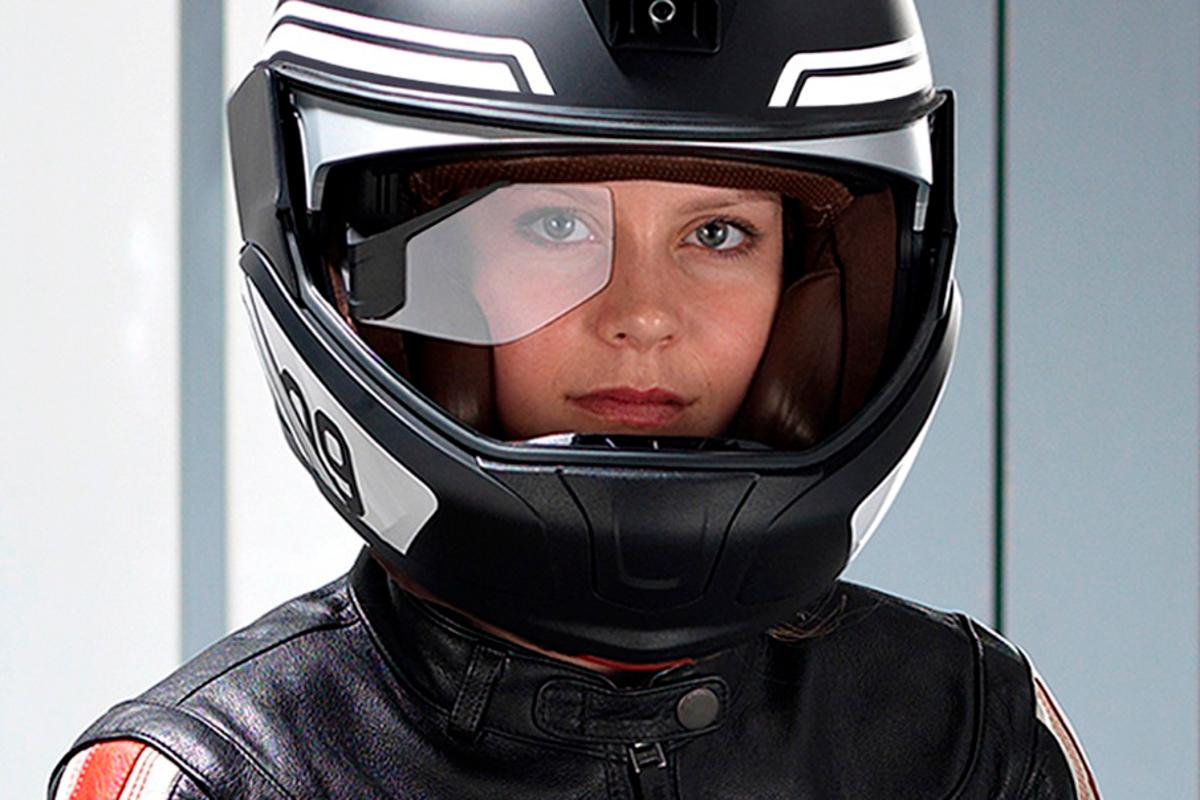 According to BMW the motorcycle helmet of the future will do much more than simply protect the rider's head