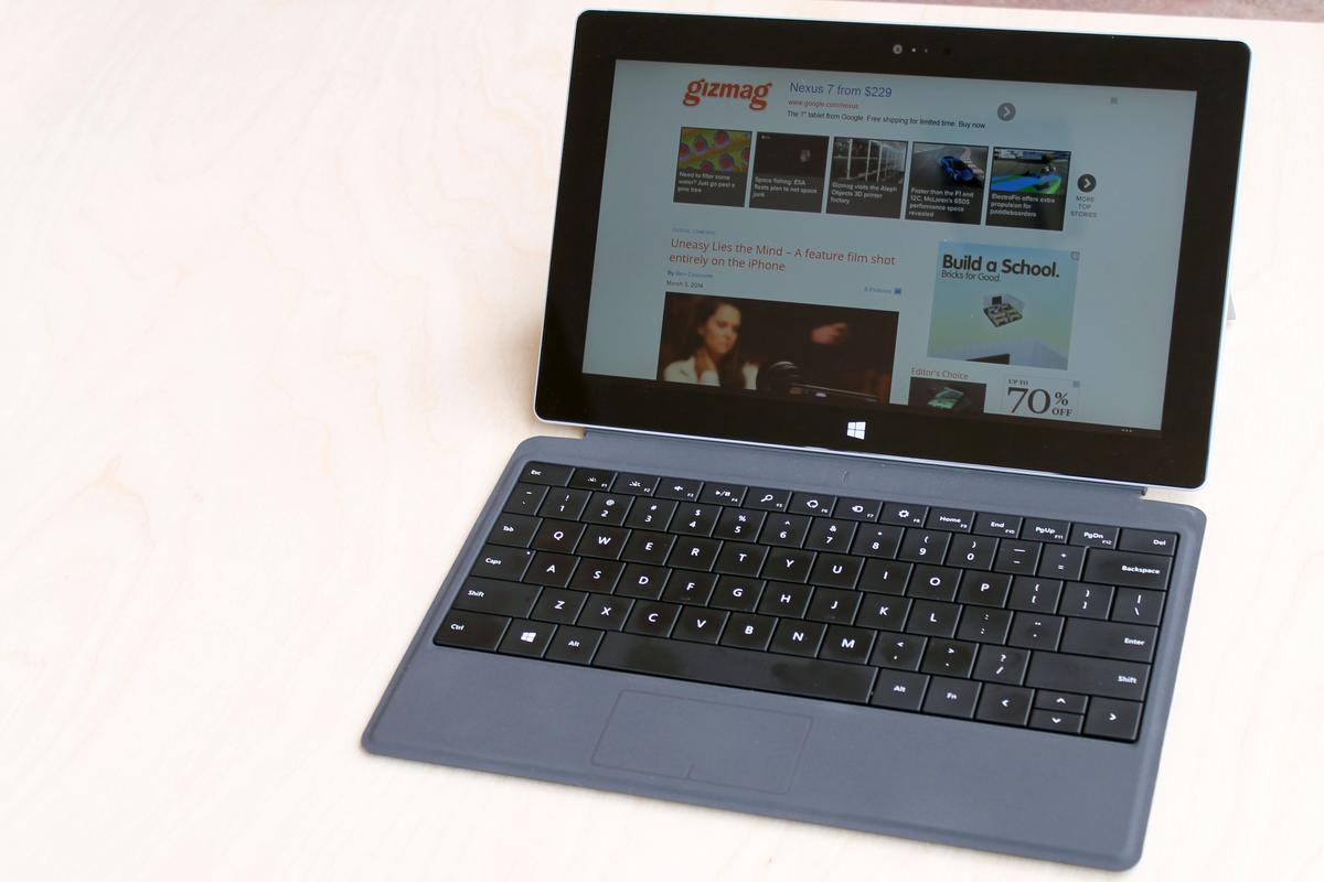 Gizmag reviews the Surface 2, the second-generation version of Microsoft's Windows RT hybrid PC