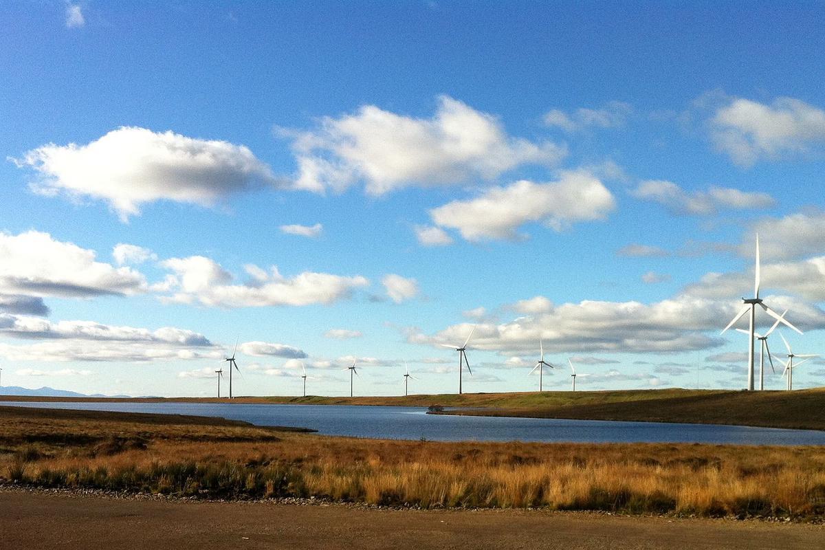 Scotland's Whitelee wind farm (Photo: Bjmullan)