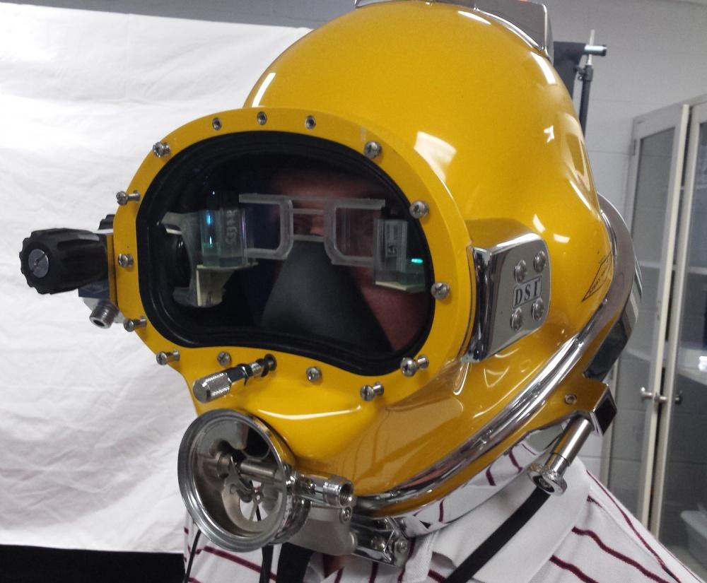 DAVD is designed for use by surface-tethered divers performing underwater activities such as ship maintenance, salvage, construction, or rescue operations