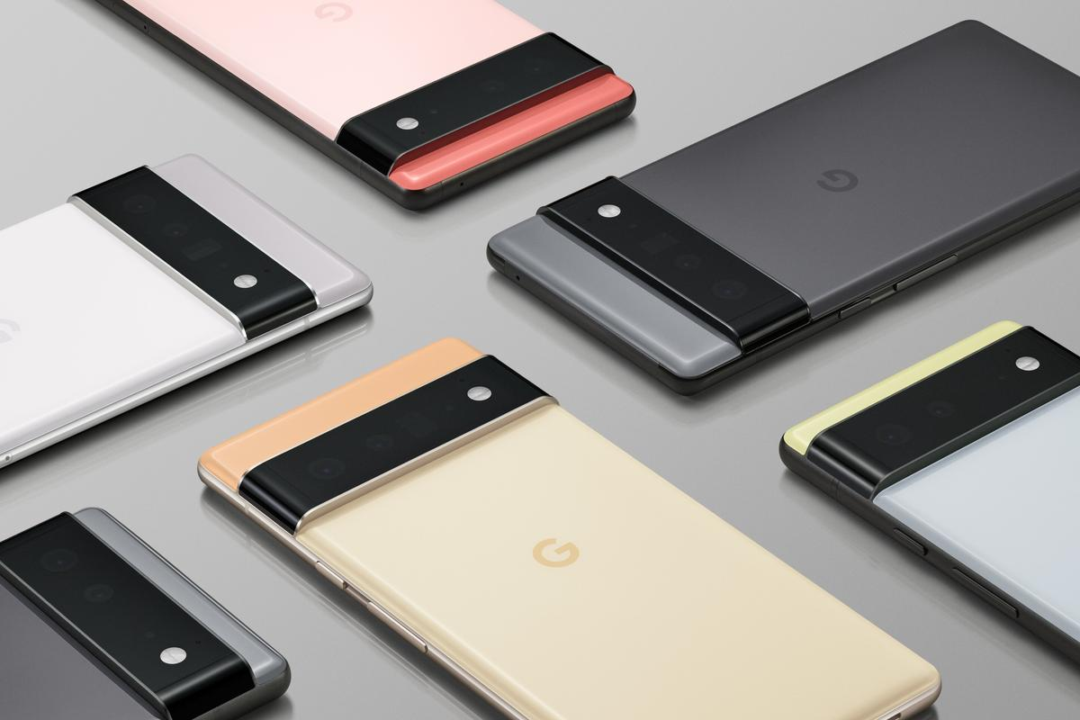 """Google has offered a """"sneak peek"""" at its Pixel 6 and Pixel 6 Pro smartphones, complete with chunky camera bars"""