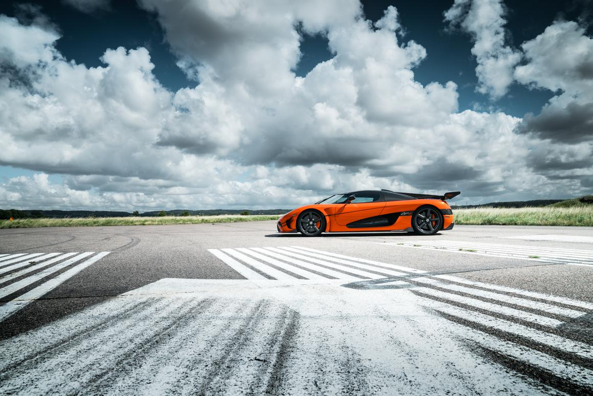 The AgeraXSis the first Agera to be homologated for American roads