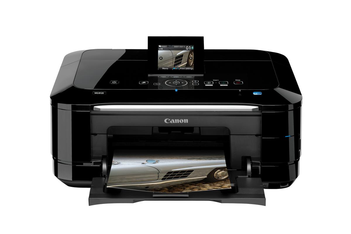 The new PIXMA printers from Canon have touch screen technology and full HD movie print function