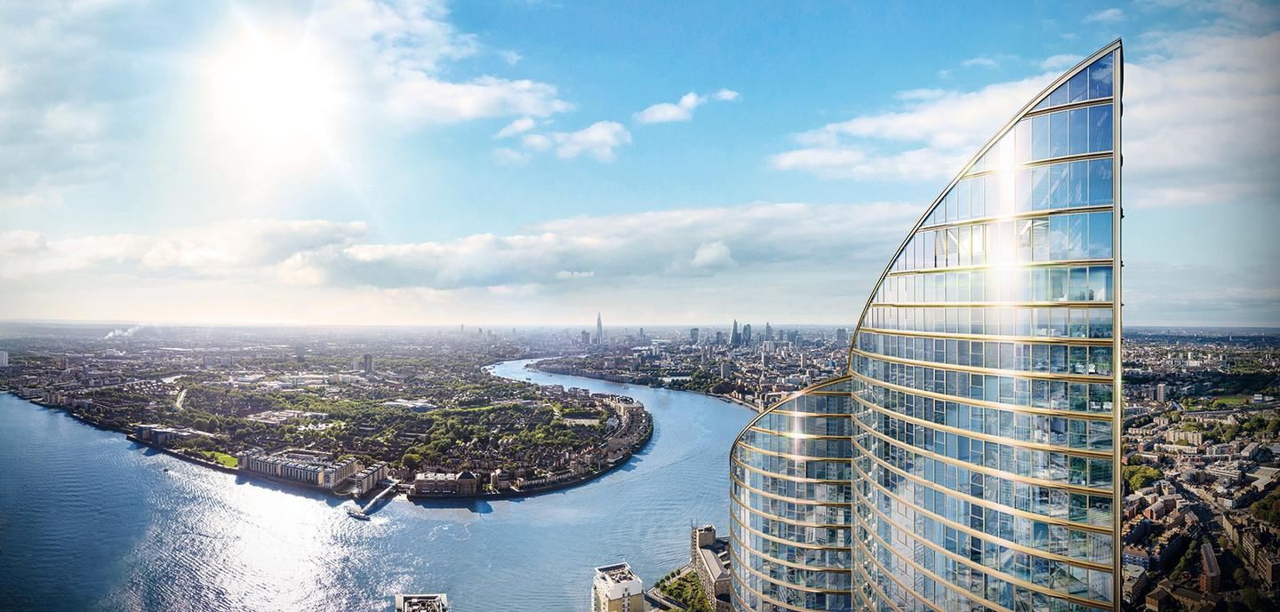 Spire London will be located in the Docklands area of London, UK