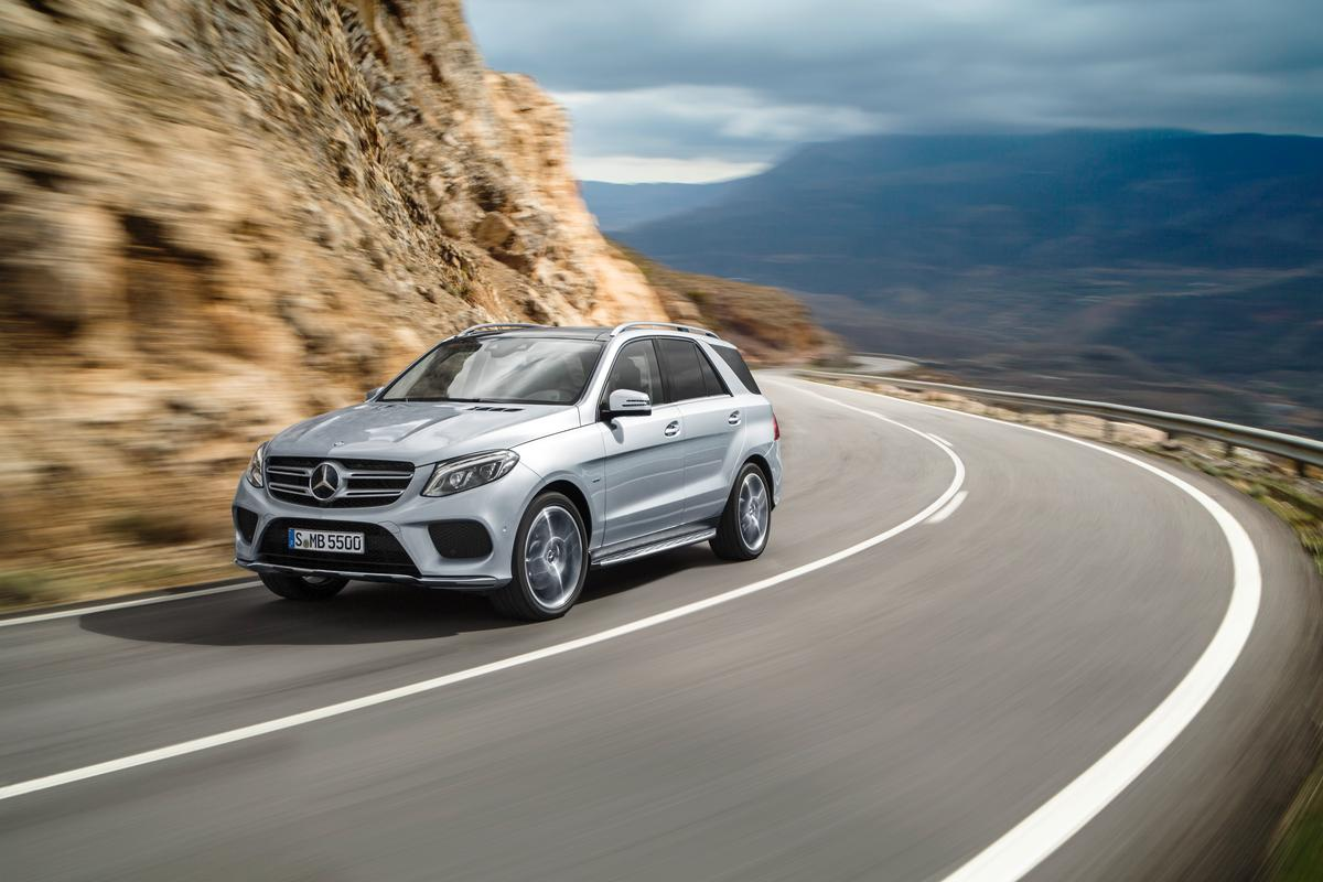 The Mercedes GLE is an updated version of its old ML-Class
