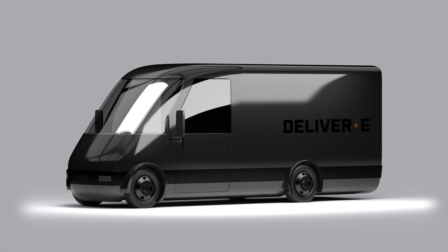 Bollinger's electric Deliver-E boasts a lower total cost of ownership than a diesel or gasoline delivery van