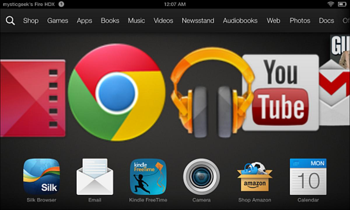 Here's how to install Google apps on Kindle Fire HD with no rooting required