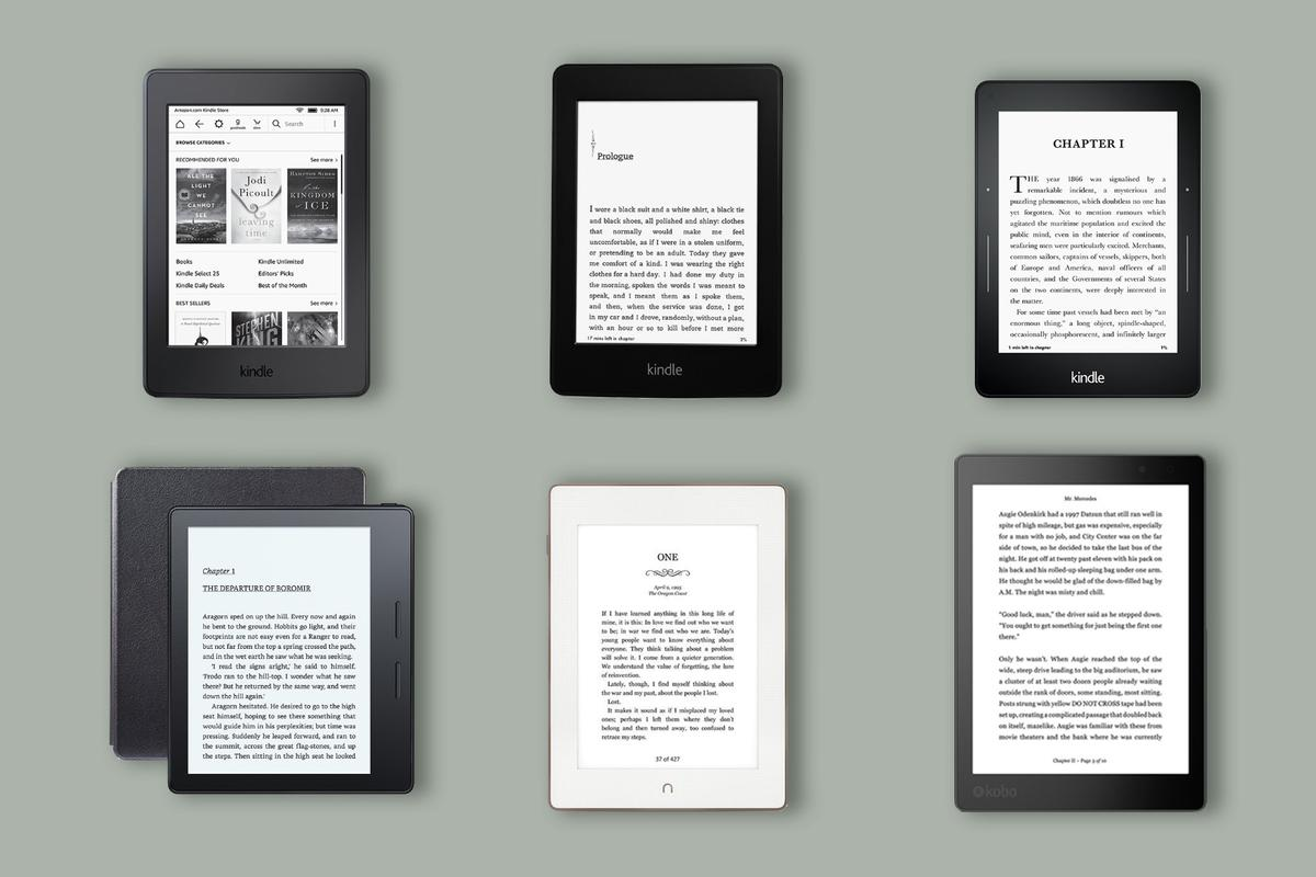 New Atlas does a close comparison of the year's best e-readers