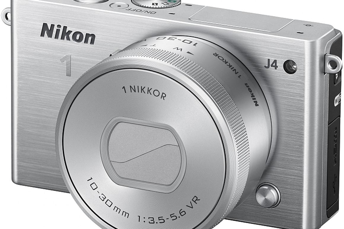 The Nikon 1 J4 will be bundled with a new 1 Nikkor VR 10–30mm F3.5–F5.6 kit lens which features an electronically controlled lens cover