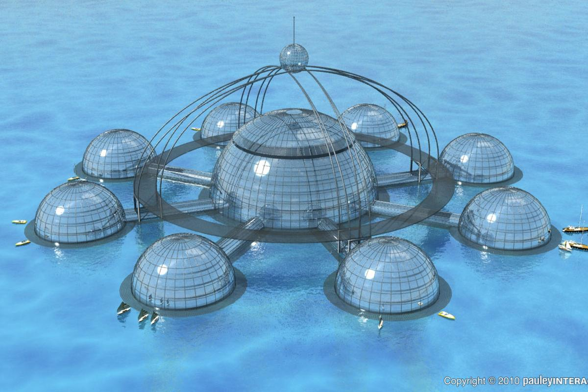 Sub-Biosphere 2 is a concept for a self-sustaining marine environment for human, animal and plant life.