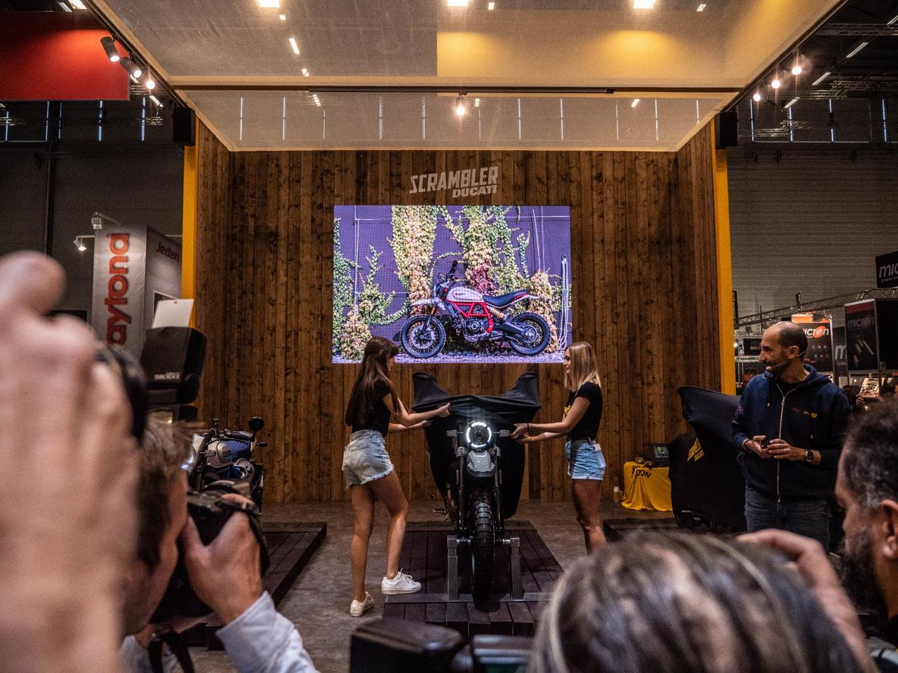 Ducati takes the wraps off three new Scramblers at Intermot 2018