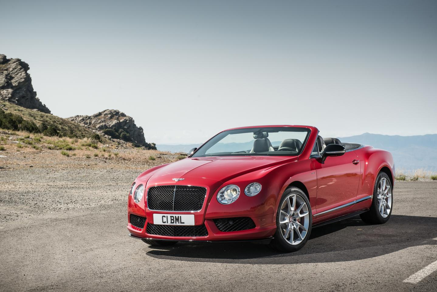 The Continental GT V8 S convertible