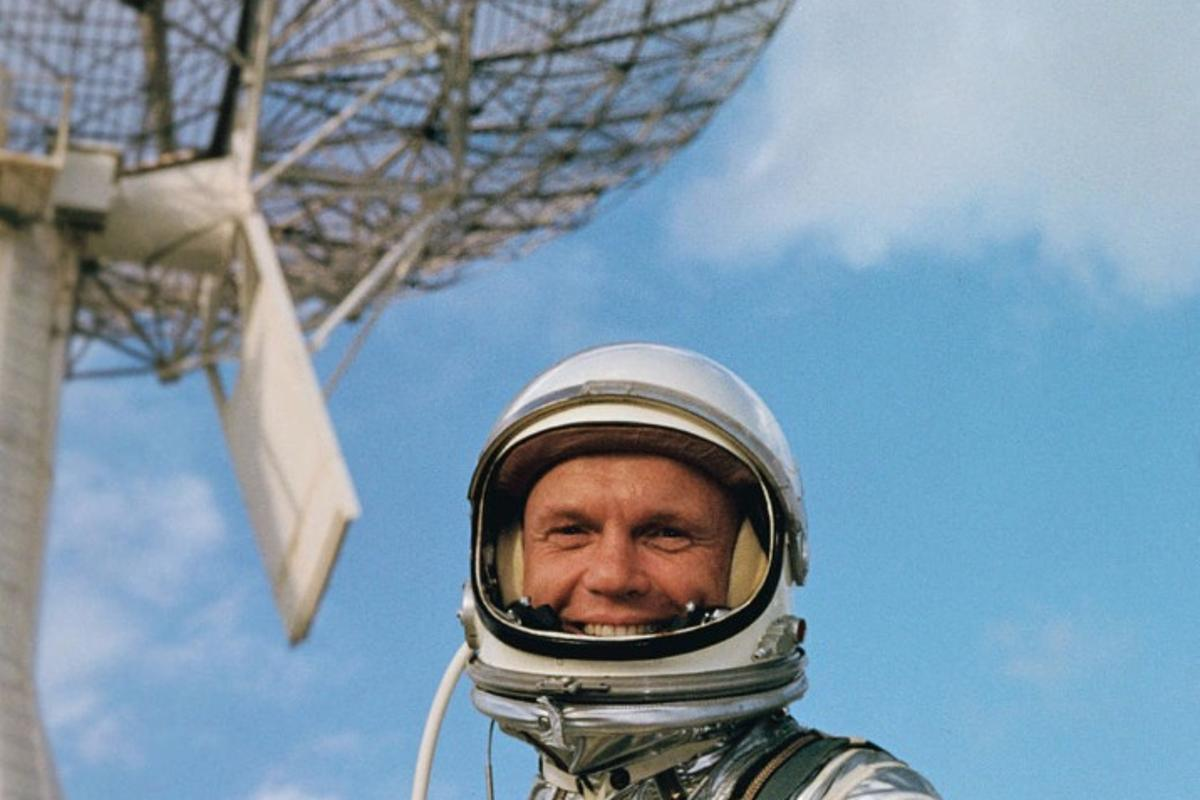 John Glenn was the first American to orbit the Earth